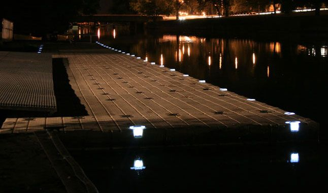 Dock Lights Solar