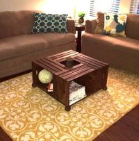 Apple Crate Coffee Table | Madame Butterfly Creations ...