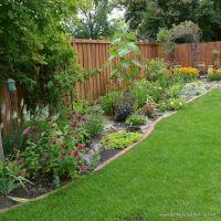 backyard fence | Garden | Pinterest
