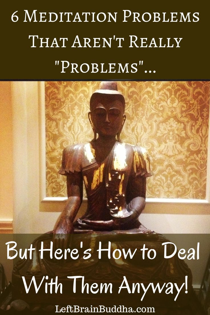 When it comes to #meditation, it's not about admitting you have a problem. It's realizing there's no problem at all.
