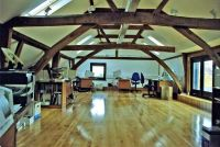 Converted barn to office | Office Views | Pinterest