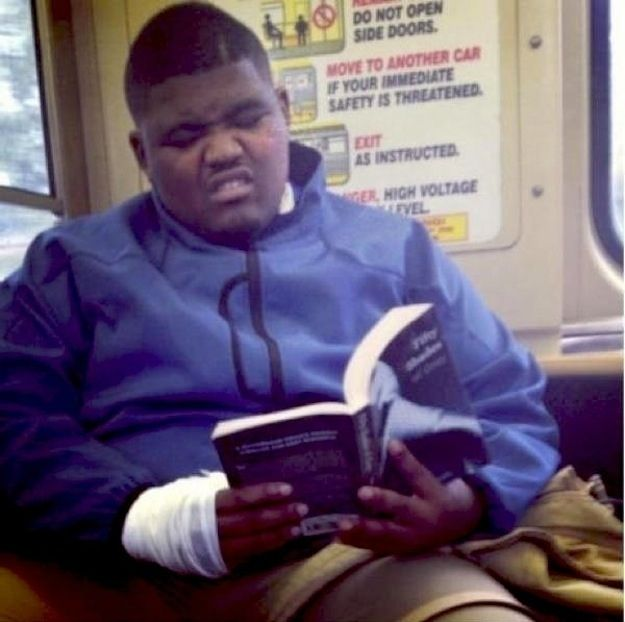 """29 People Caught Reading """"Fifty Shades Of Grey"""" In Public  number 19 and 29 killed me,  too funny!"""