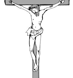 jesus christ on the cross clipart jesus christ on the cross clipart [ 736 x 1079 Pixel ]