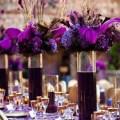 Purple centerpieces wedding ideas pinterest