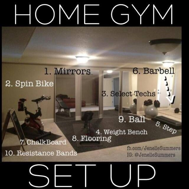 home gym set up pretty much everything we have in our home gym