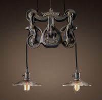 bar lighting - restoration hardware | For the Home | Pinterest