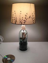 Wine bottle lamp :) | Wine Bottle | Pinterest