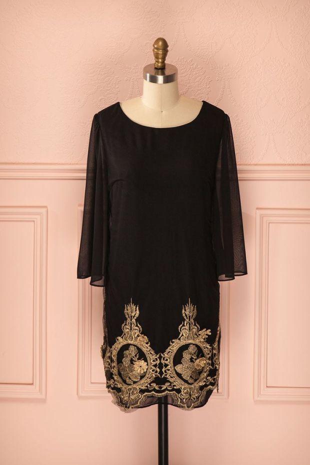 robe-noire-broderie-dorée-boutique-1861