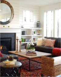 Modern farmhouse living room   Home   Pinterest