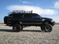 Ford Excursion rack and ladder | Ford Excursion | Pinterest