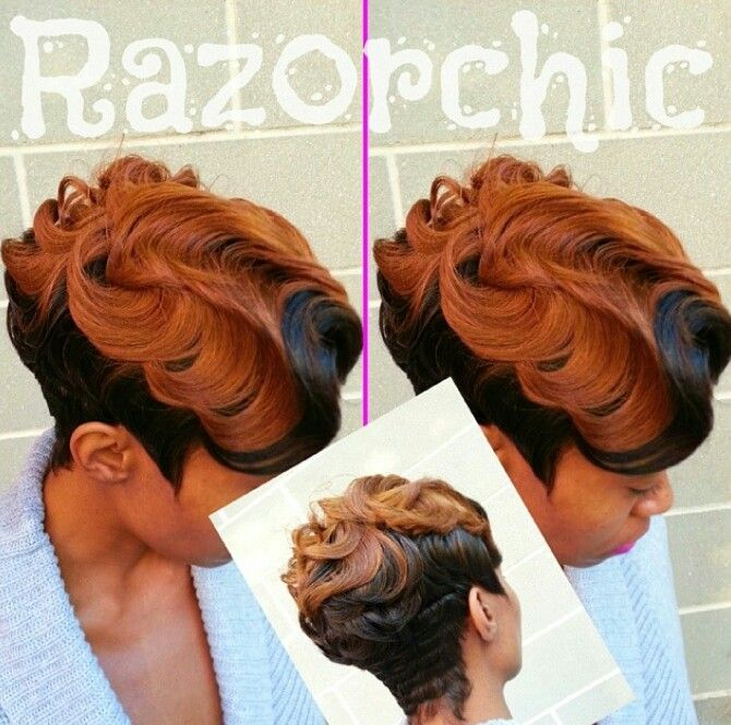 Hairstyles Of Dry Finger Waves