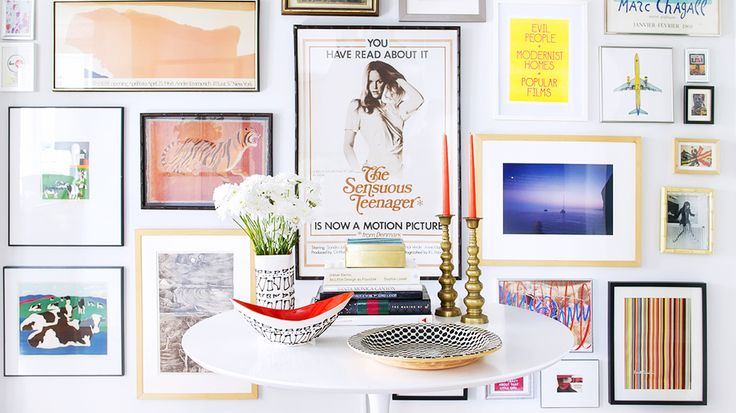 Gallery Walls 101: 7 Ideas For an Artful Arrangement