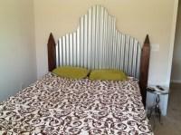 Corrugated Metal & Walnut Headboard | Corrugated Metal ...