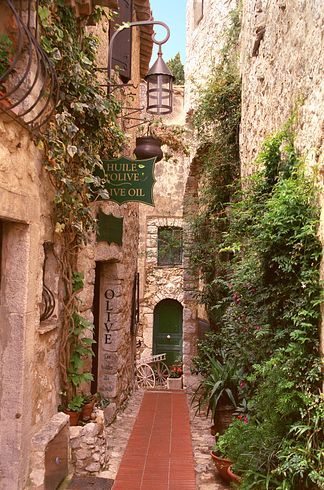 Eze in the French Riviera