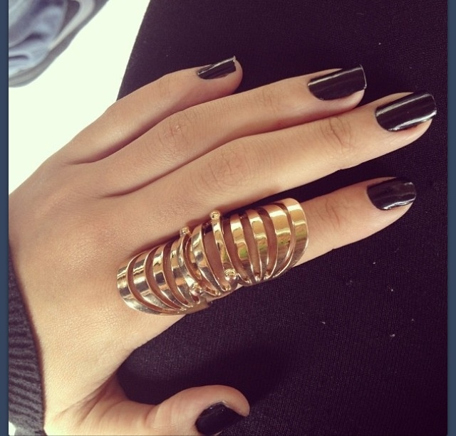 want it - elegant gold ring
