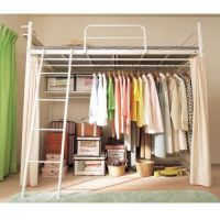 loft bed & closet | Home Designs | Pinterest