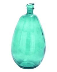 Teal Glass Vase | teal | Pinterest