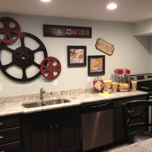 Theater Room Snack Bar Home Theater Pinterest