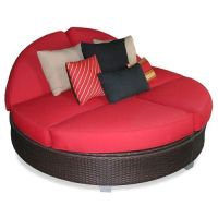 Patio Heaven Signature Round Double Chaise Lounge