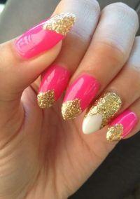 beautiful Pink nails | myFav NAILS | Pinterest