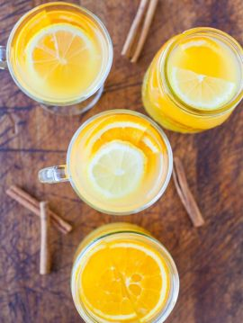 Chai-Spiced Triple Citrus Tea