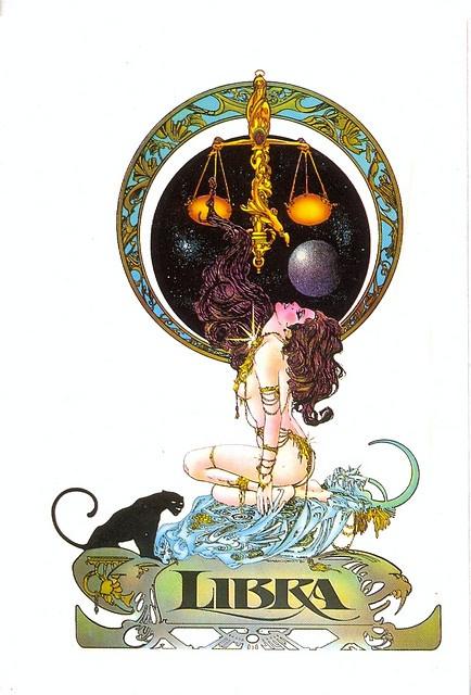 postcard - e. maroto - libra by sonobugiardo