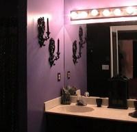 Purple Gargoyles Master Bathroom | My Gothic Castle ...