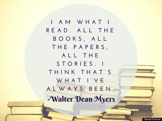 Walter Dean Myers: Once I Began To Read, I Began To Exist