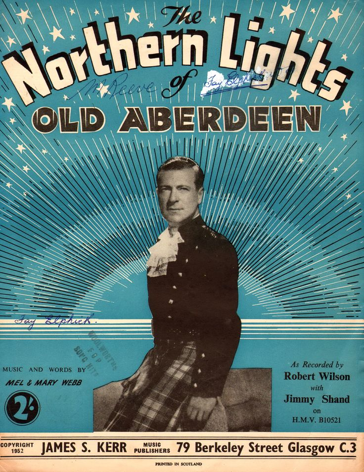 Northern Lights Old Aberdeen Lyrics