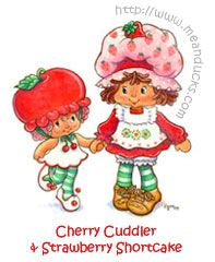 Cherry Cuddler & Strawberry Shortcake