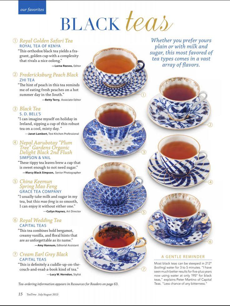 Types Of Tea Mad Hatter Pinterest