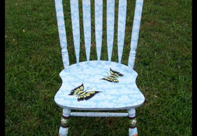 Painted Chairs Pinterest