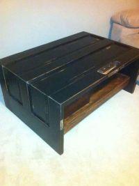 Vintage door coffee table | home decor | Pinterest