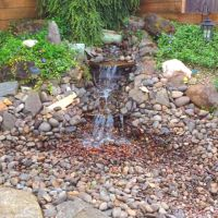 Backyard water feature | house.... | Pinterest
