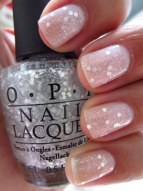 Sparkle Manicure- Nailed It! 12 Nail Art Designs for Your Wedding Day