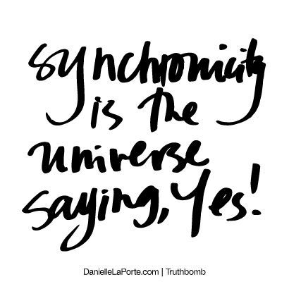 Synchronicity Quotes. QuotesGram