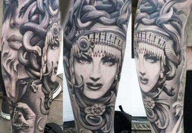 Medusa Tattoos On Pinterest Medusa Tattoo Medusa Tattoo