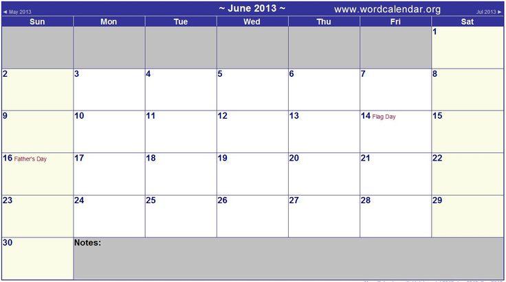 Word Calendar Template - 2015 Word Calendar Templates