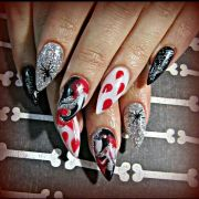 halloween acrylic nails kimme