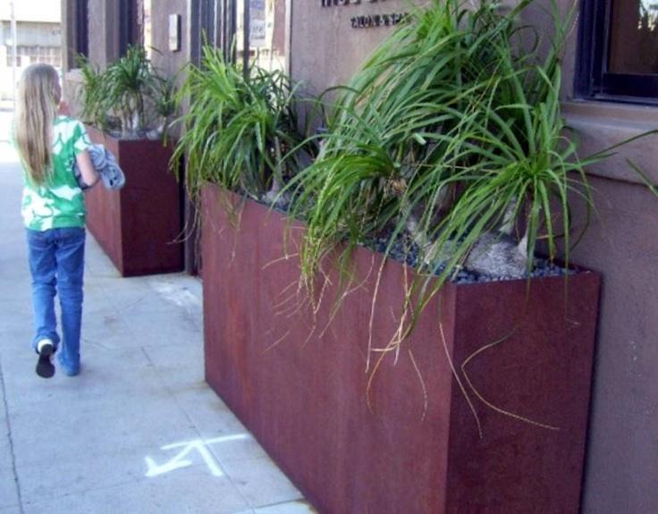 Tall Skinny Planters