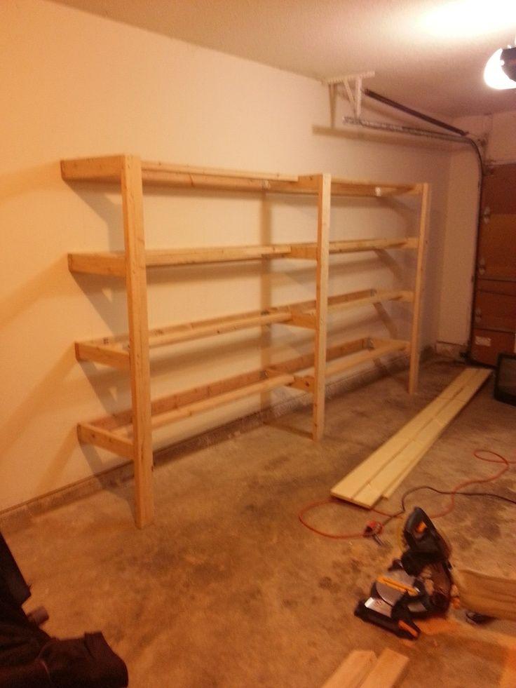 DIY Garage Shelves  Imgur  For the Home  Pinterest