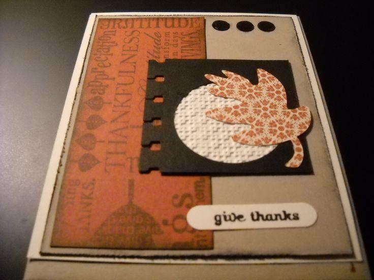 Make Thanksgiving Card