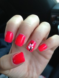 Hawaiian Flower Nails | Joy Studio Design Gallery - Best ...