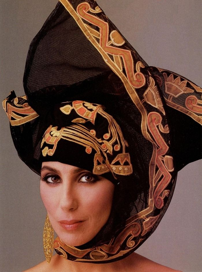 Cher for Vanity Fair, 1986 by Annie Leibovitz