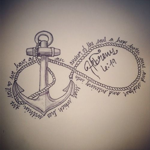 20 Anchor Tattoos With Jesus Quotes Ideas And Designs