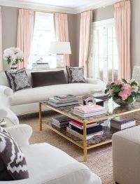 Perfect | Vintage-Glam Living Room | Pinterest
