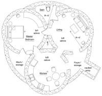 hobbit hole floorplan   My Style   Pinterest