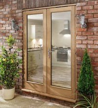 Oak Doors: Solid Oak French Doors