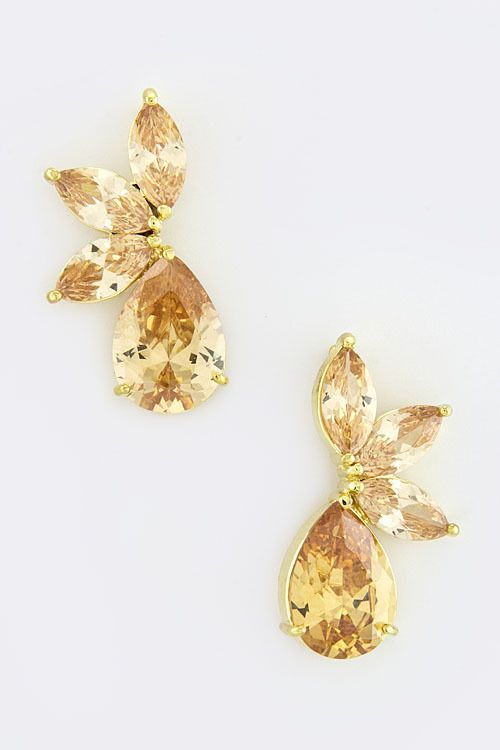 CB Boutique - WINGS OF LOVE EARRINGS, $49.00 (http://www.ishopcb.com/wings-of-love-earrings/) #wedding #jewelry #style #fashion