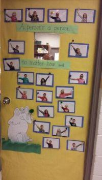 Horton hears a who door decoration | classroom | Pinterest